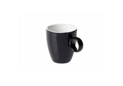 Koffiekop 6,5cl Zwart