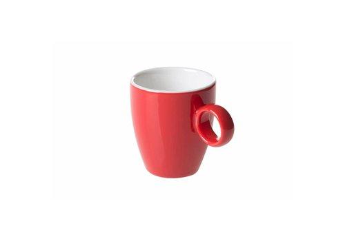 Koffiekop 6,5cl Rood
