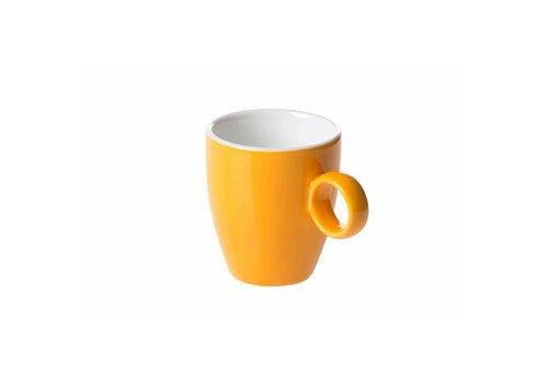 Koffiekop 6,5cl Oker