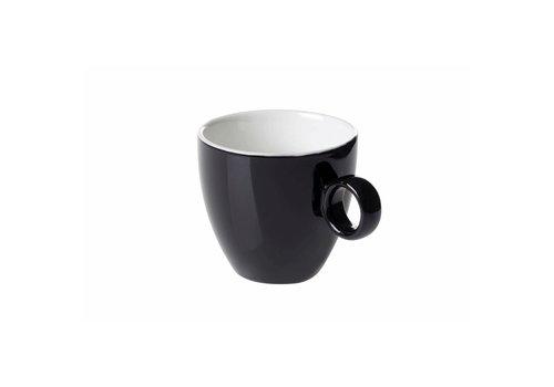 Koffiekop 17cl Zwart