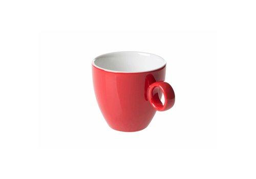 Koffiekop 17cl Rood