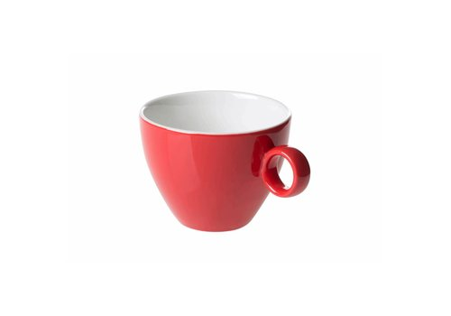 Koffiekop 23cl Rood