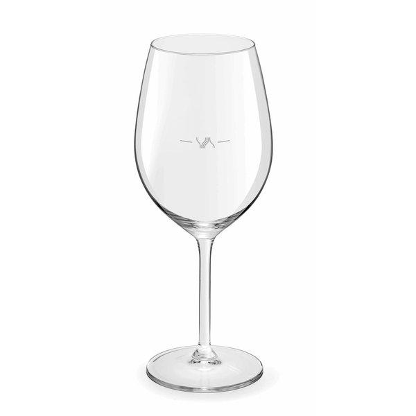 Royal Leerdam Wijnglazen.Royal Leerdam Esprit Du Vin Wijnglas 32cl Met Maatstreep Set Van 6