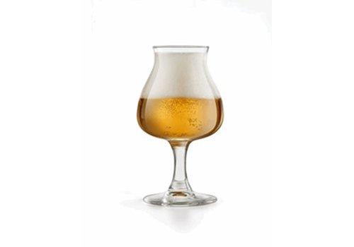 Bierglas 25cl op Voet ( Set van 6 )