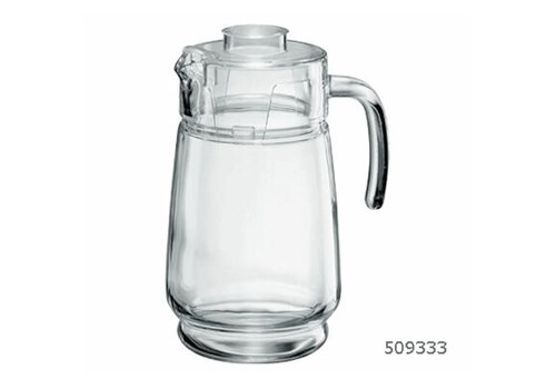 Kan 1,6 Liter met Deksel Piacenza ( Set van 6 )