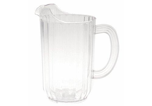 Kan 1,4 Liter - Ribbel Polycarbonaat - ( Set van 6 )