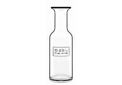 Karaf 0,25 Liter Fine Wine Optima ( Set van 12 )