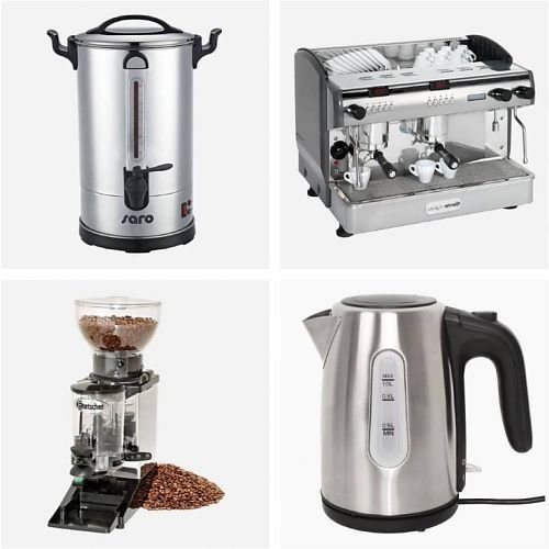 Koffie & Thee Apparatuur