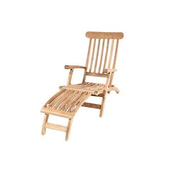 GardenTeak Deckchair | Nu extra scherp geprijsd en met gratis kussen!