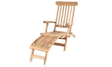Garden Teak Deckchair | Zeer scherp geprijsd!