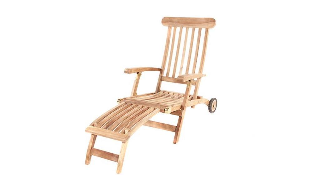 Deckchair | Met wielen