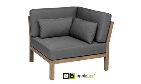 AppleBee tuinmeubelen Loungestoel XXL Factor | Hoek