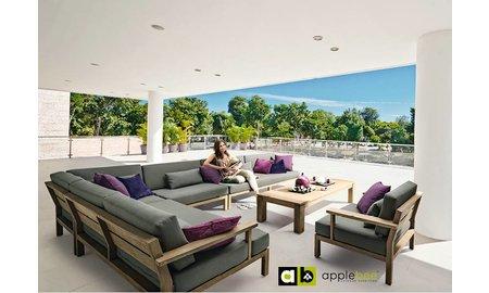 AppleBee tuinmeubelen Loungeset XXL Factor | Set 1