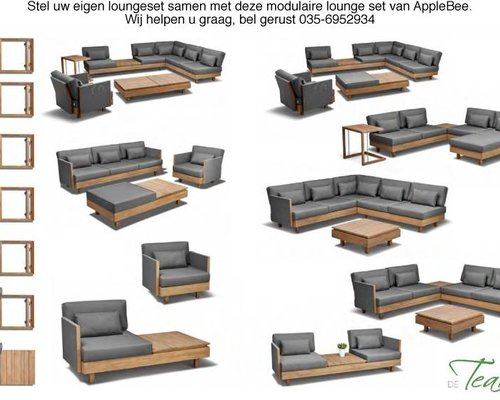 Loungeset Module X | Set 1