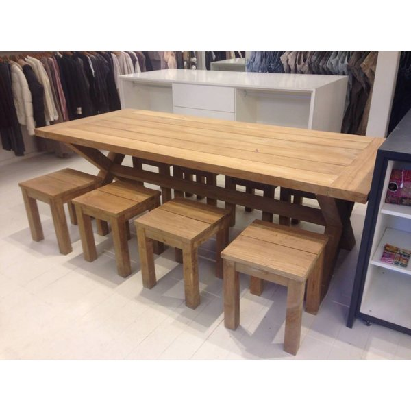 GardenTeak Teak tuinkruk Java
