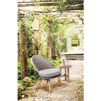 AppleBee tuinmeubelen Loungestoel Fleur | Bruin