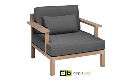 Apple Bee tuinmeubelen Loungestoel XXL Factor