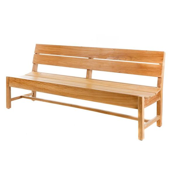 GardenTeak Teakhouten tuinbank James 210cm