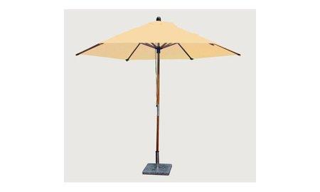 Bambrella Parasol Sirocco   3 meter ⌀   Khaki   Polyester