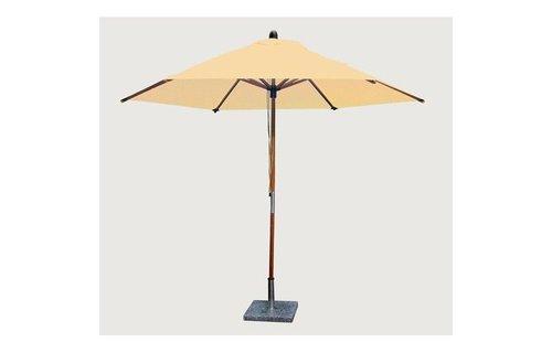 Bambrella Bambrella Parasol Sirocco - 3m rond - Khaki