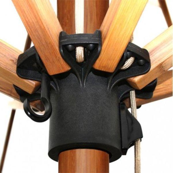 Bambrella Sirocco parasol 3meter rond Khaki