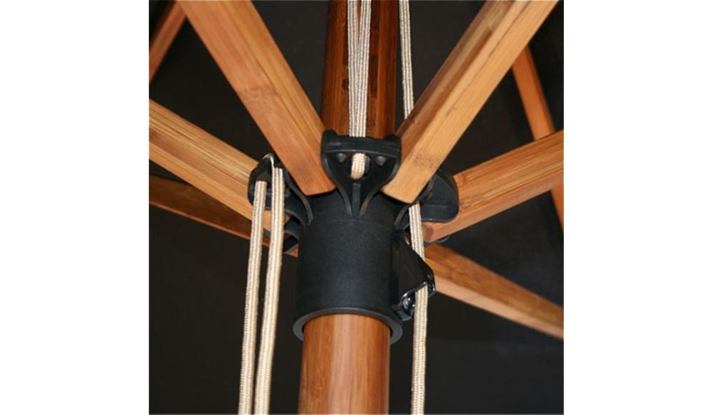 Parasol Sirocco | 3 meter ⌀ | Khaki | Polyester