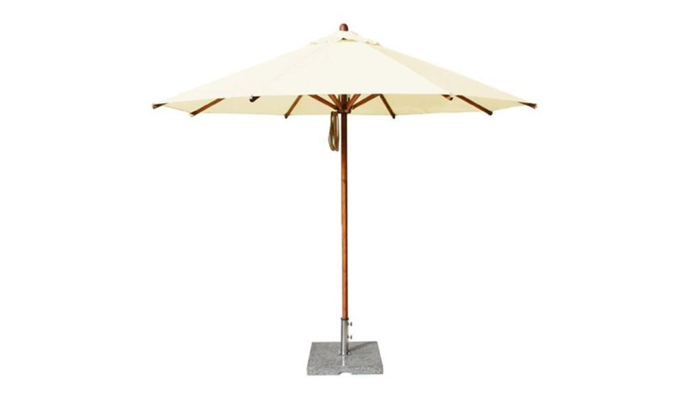 Parasol Levante | 3 meter ⌀ | Nature | Polyester