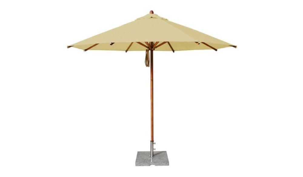 Parasol Levante | 3 meter ⌀ | Khaki | Polyester