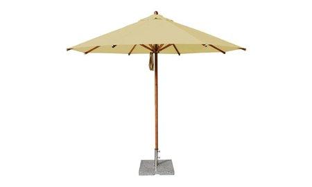 Bambrella Parasol Levante | 3 meter ⌀ | Khaki | Polyester