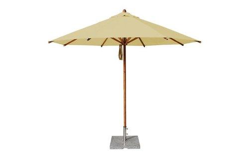 Bambrella Bambrella Parasol Levante - 3m rond - Khaki Polyester