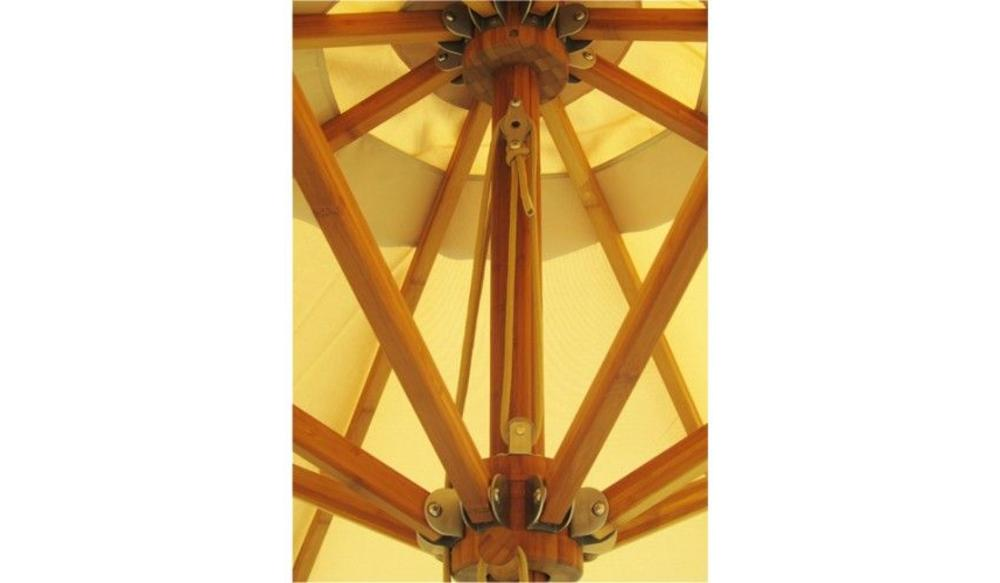 Parasol Levante | 4 meter ⌀ | Harvest Wheat | Spuncrylic