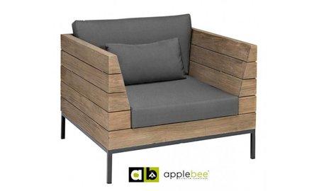 AppleBee tuinmeubelen Long Island loungestoel