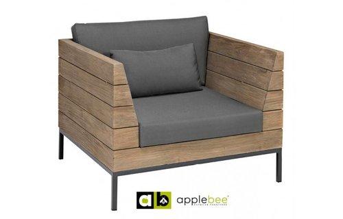 Apple Bee tuinmeubelen Long Island Lounge - Loungestoel