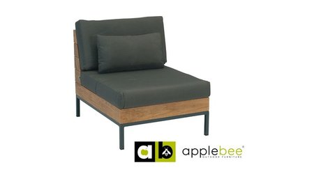 Apple Bee tuinmeubelen Loungestoel Long Island | Center