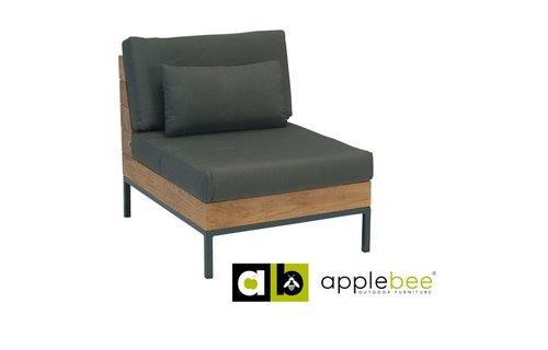Apple Bee tuinmeubelen Long Island Lounge - Center Chair