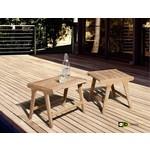 AppleBee tuinmeubelen Juul loungestoel Nature zonder armleuning