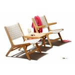 AppleBee tuinmeubelen Loungestoel Juul | Nature | Zonder arm