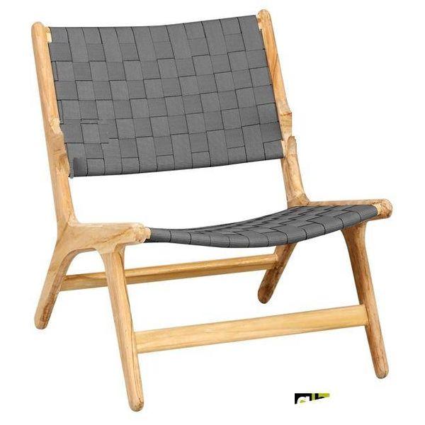 AppleBee tuinmeubelen Juul lounge stoel pavement zonder armleuning