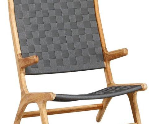 Loungestoel Juul | Hoge rug | Pavement