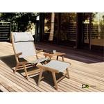 AppleBee tuinmeubelen Hoofdkussen Juul loungestoel nature