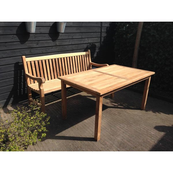 GardenTeak Tuintafel Collin 150 x 90 cm (SALE ITEM)