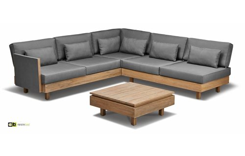 Apple Bee tuinmeubelen Loungeset Module X | Set 2
