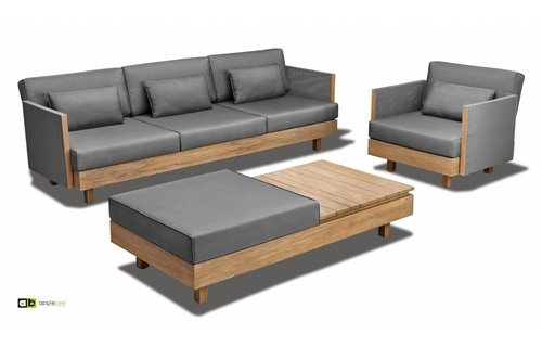 Apple Bee tuinmeubelen Loungeset Module X | Set 3