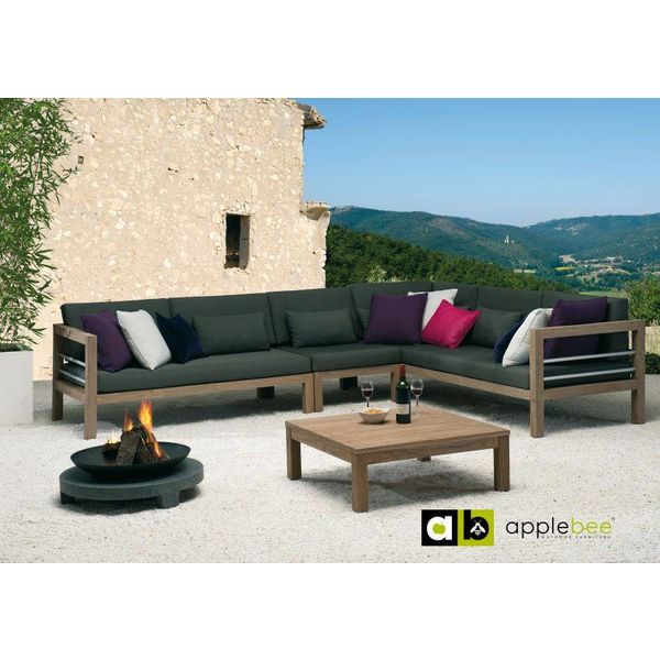 AppleBee tuinmeubelen Del Mar loveseat links