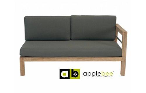 AppleBee tuinmeubelen Loveseat Del Mar | Links
