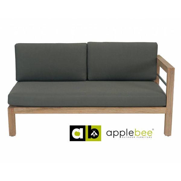 AppleBee tuinmeubelen Loveseat Del Mar | Rechts