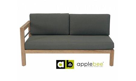 Apple Bee tuinmeubelen Loveseat Del Mar   Rechts