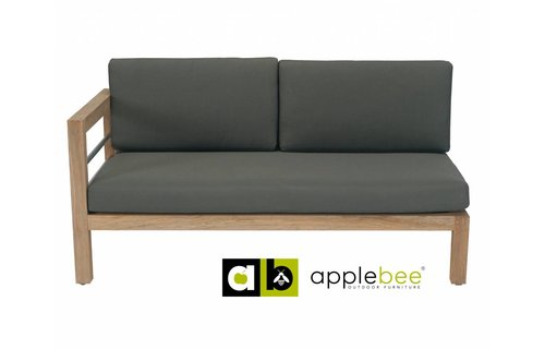 Apple Bee tuinmeubelen Del Mar Lounge - Love Seat Rechts