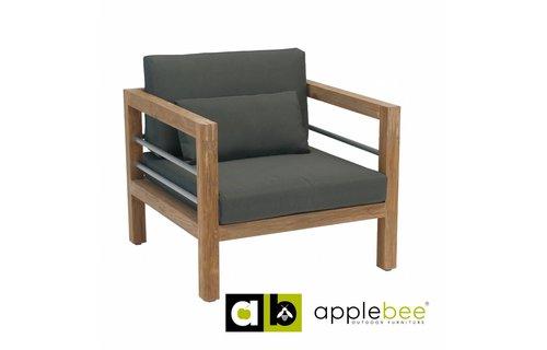 Apple Bee tuinmeubelen Del Mar Lounge - Lounge Stoel