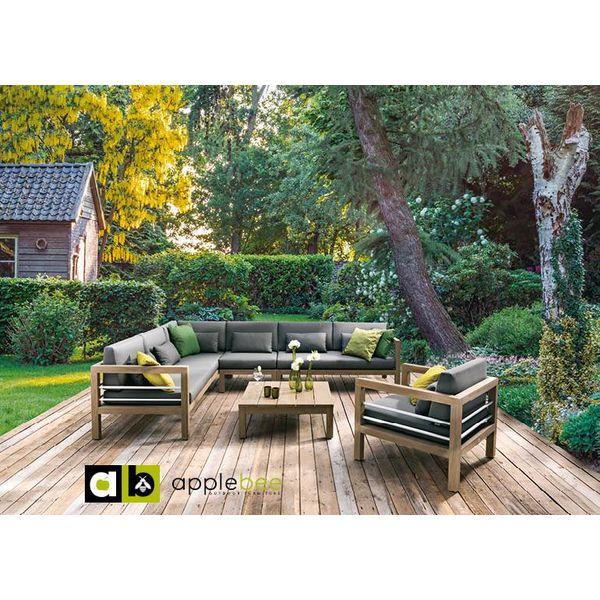 AppleBee tuinmeubelen Applebee Del Mar salon tafel 85 x 85cm
